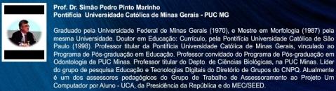 Prof. Simão Pedro Pinto Marinho (Clique para CV Lattes)